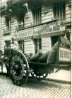 Coche del carbon, Eugene Atget, Paris 1910