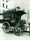 Coche destilador, Eugene Atget, Paris 1910