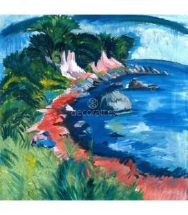 Costa de la isla de Fehmarn