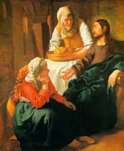 Cristo en casa de Marta y Maria