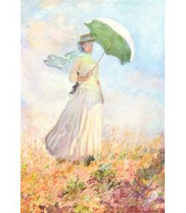Dama con parasol