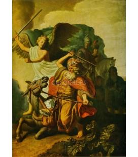 El angel y el profeta Balaam