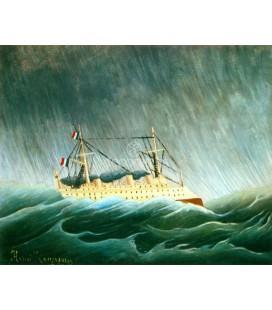 El barco en la tormenta