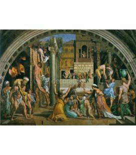 El incendio del Borgo Vaticano, Sala del incendio del Borgo