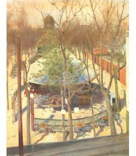 El parque del Moulin de la Galette (Paris)