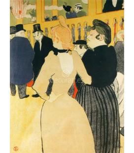 En Moulin Rouge La Goulue y su hermana