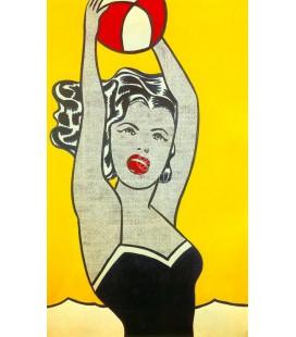 Girl with Ball, Roy Lichtenstein