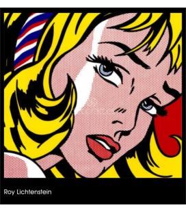 girl, Roy Lichtenstein