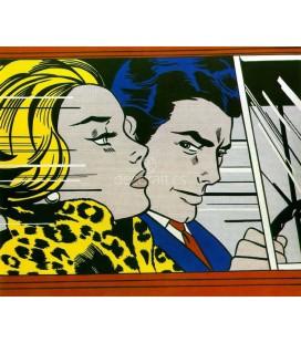 inthecar, Roy Lichtenstein