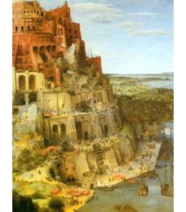 La construccion de la Torre de Babel (Detalle)