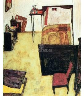 La habitacion del artista en Neulengbach