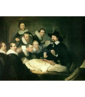 La leccion de anatomia del Dr. Tulp