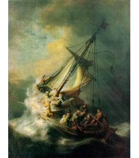 La tempestad en lago de Galilea