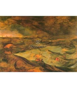 La tormenta en el mar
