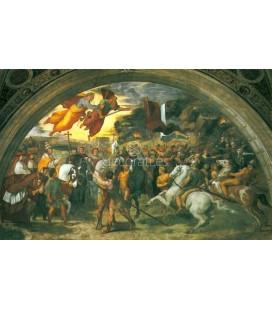 Leon el Grande detiene a Atila Vaticano, Sala de Heliodoro