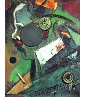 Merzbild 1 A, Kurt Schwitters