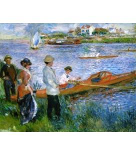 Oarsmen at Chatou renoir