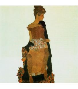 Retrato de Gerti Schiele