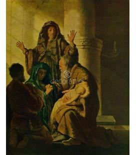 Simeon en el templo