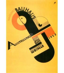 Cartel para la e/posicion de la Bauhaus de 1923 en Weimar