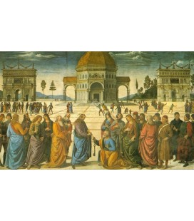 Entrega de la llaves del Vaticano, Capilla Si/tina
