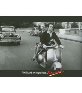 Vespa, The Road Happiness...