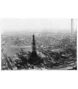 Vista aérea de la E/posición universal de París