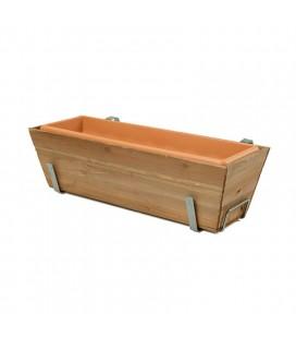 Balconera de madera