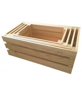 Pack de 4 cajas