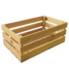 Caja de tiras madera