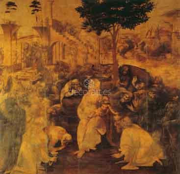 Adoracion de los Magos. 1482