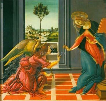 Anunciacion de la predela con la Piedad