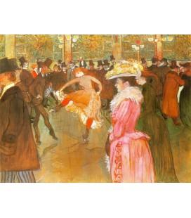 Baile en Moulin Rouge