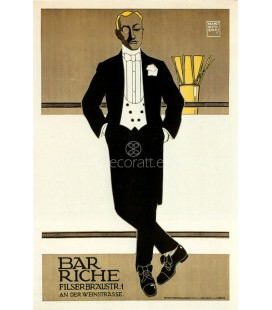 Bar Riche, Alemania, 1907