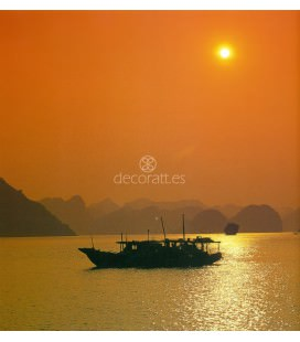 Barca de pescadores, Tailandia