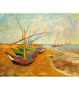 Barcas en Saintes-Maries