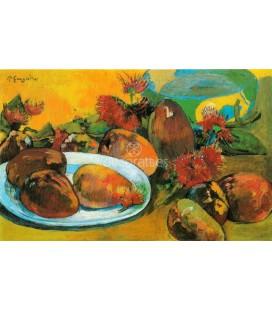Bodegon con mangos