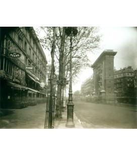 Bolevard Saint Denis, Eugene Atget, Paris 1926