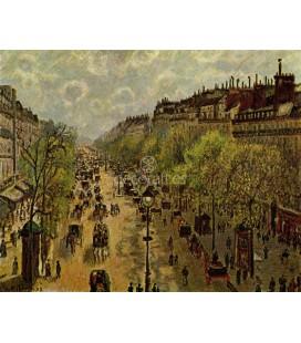 Boulevard Montmartre au printemps