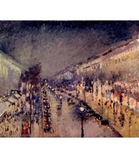 Boulevard Montmartre la nuit