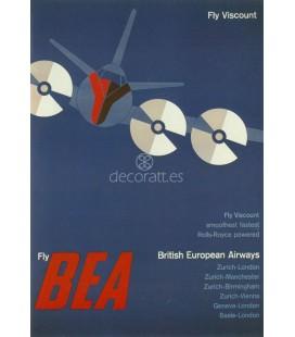 British European Airlines, 1956