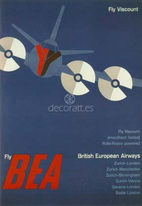 British European Airlines, 1956