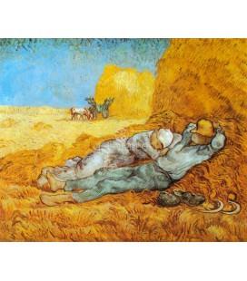 Campesinos durmiendo la siesta