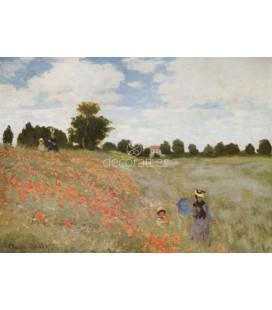 Campo floreciendo en Argenteuil