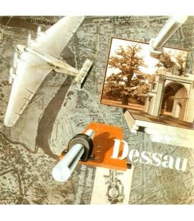 Cartel para la ciudad de Dessau, Alemania