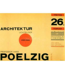 Cartel para una conferencia en la Bauhaus