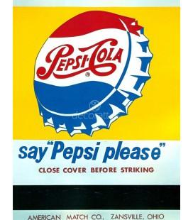 Cerrar la caja antes de encender (Pepsi Cola)