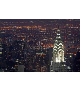 Chrysler Building iluminado